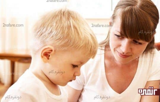 ارتباظ چشمی نداشتن کودک با والدین
