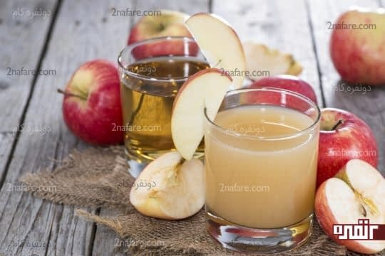 آب سیب درمان تب و لرز
