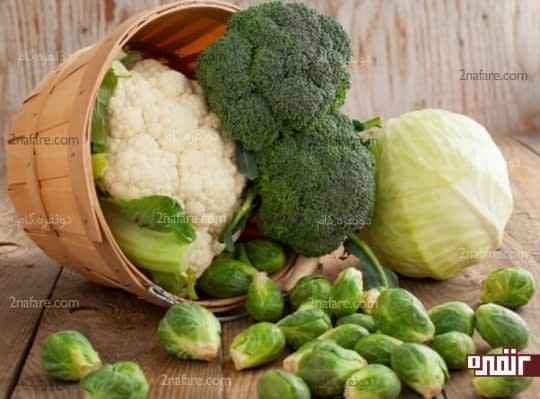 سبزیجات و کاهش درد در مفاصل