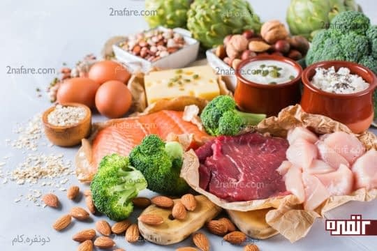 مواد غذایی سرشار از ویتامینB