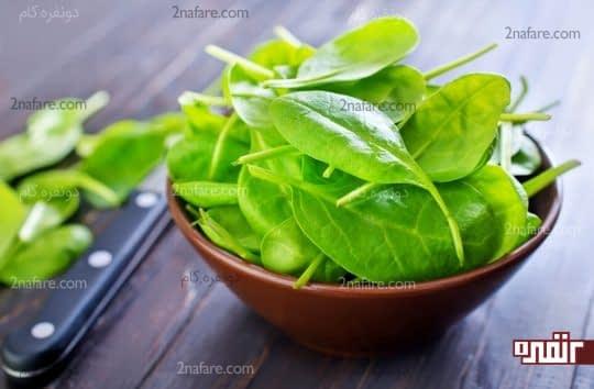 استفاده از میوه و سبزیجات در هر وعده غذایی