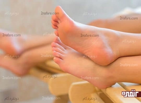 درمان خانگی از بین بردن پوست مرده پا