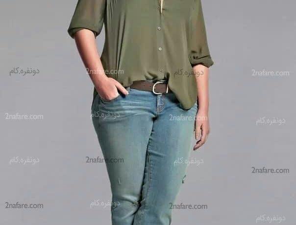 اصول انتخاب لباس برای خانم های چاق