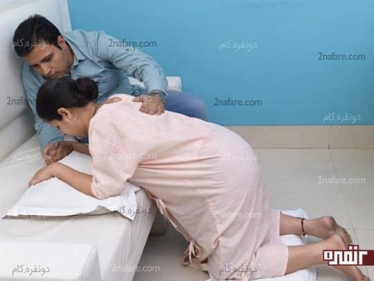 یک موقعیت مناسب برای مادر حین زایمان