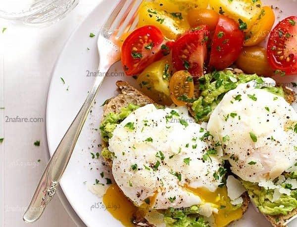 صبحانه سالم و مقوی