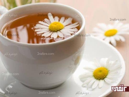 چای بابونه برای درمان مشکلات گوارشی