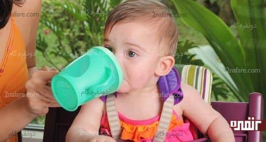 فرزندتون باید به خوبی مایعات بخوره