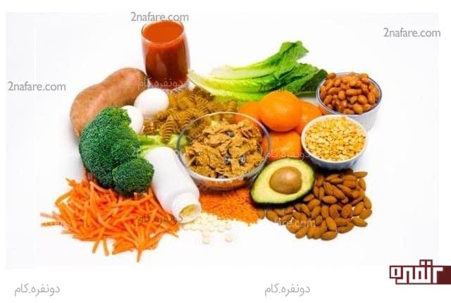 غذاهای دارای فولیک اسید