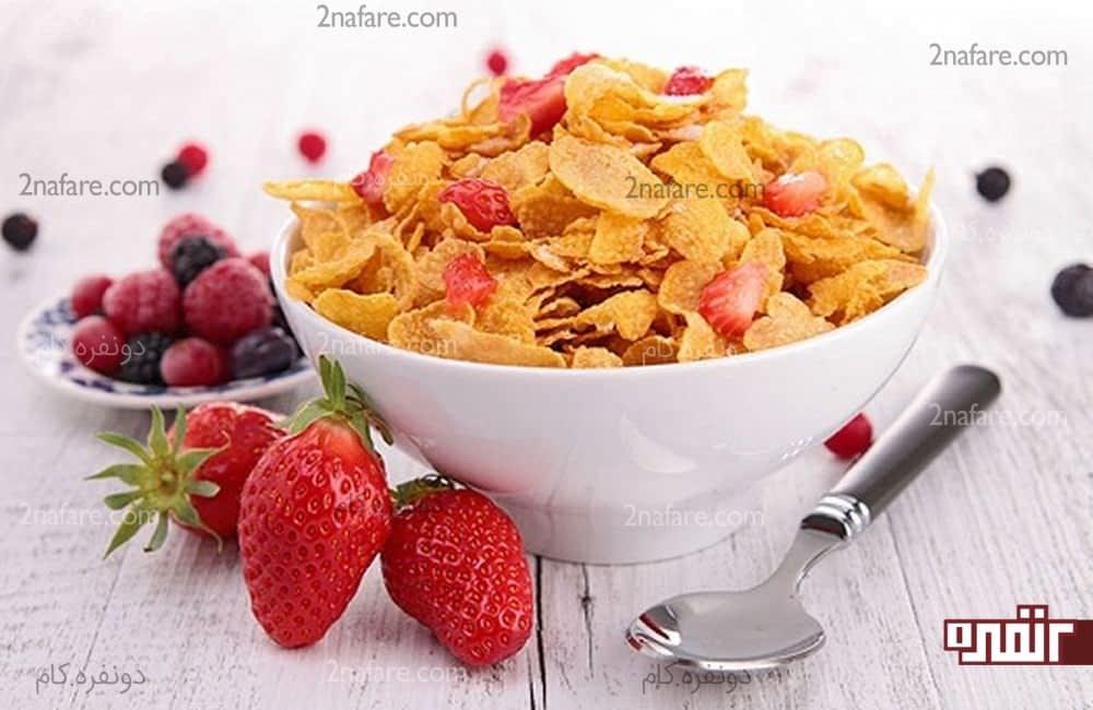 خوردن ویتامین B12 در صبحانه