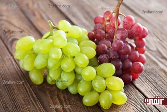 انگور درمان خانگی خلط سینه