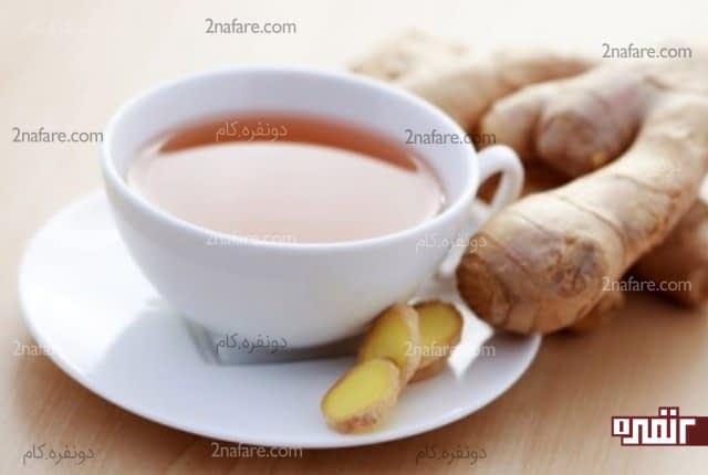 نوشیدن چای زنجبیلی برای تسکین زانودرد
