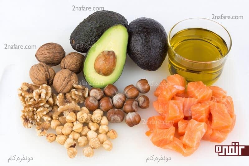 چربی های سالم برای بدن بسیار مفیدن