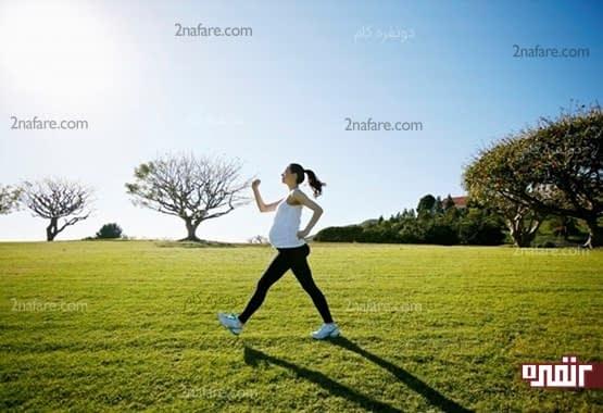 به صورت منظم ورزش کنین