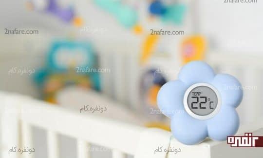 دمای اتاق نوزاد رو تنطیم کنین