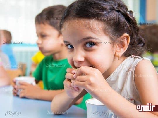 تغذیه در سن رشد