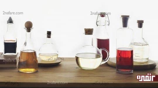 ترکیب سرکه سفید و الکل برای درمان خانگی گوش درد