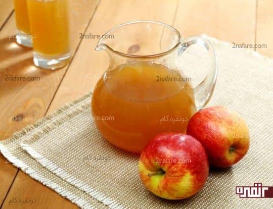 سرکه سیب برای رفع تیرگی زانو و آرنج