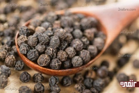 فلفل سیاه هم در جذب غذا و هم در تقویت اشتها موثره