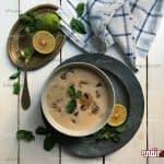 طرز تهیه سوپ خامه مرحله به مرحله