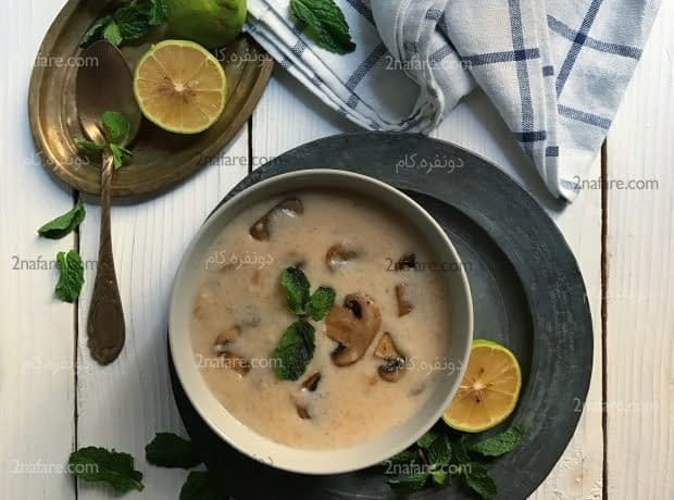 سوپ خامه