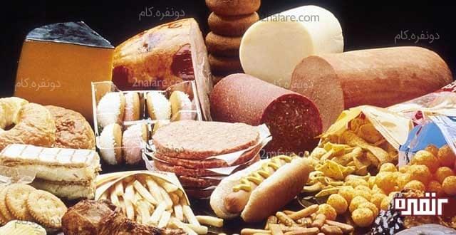 غذاهای پرچرب به ضرر سیستم گوارش شما هست