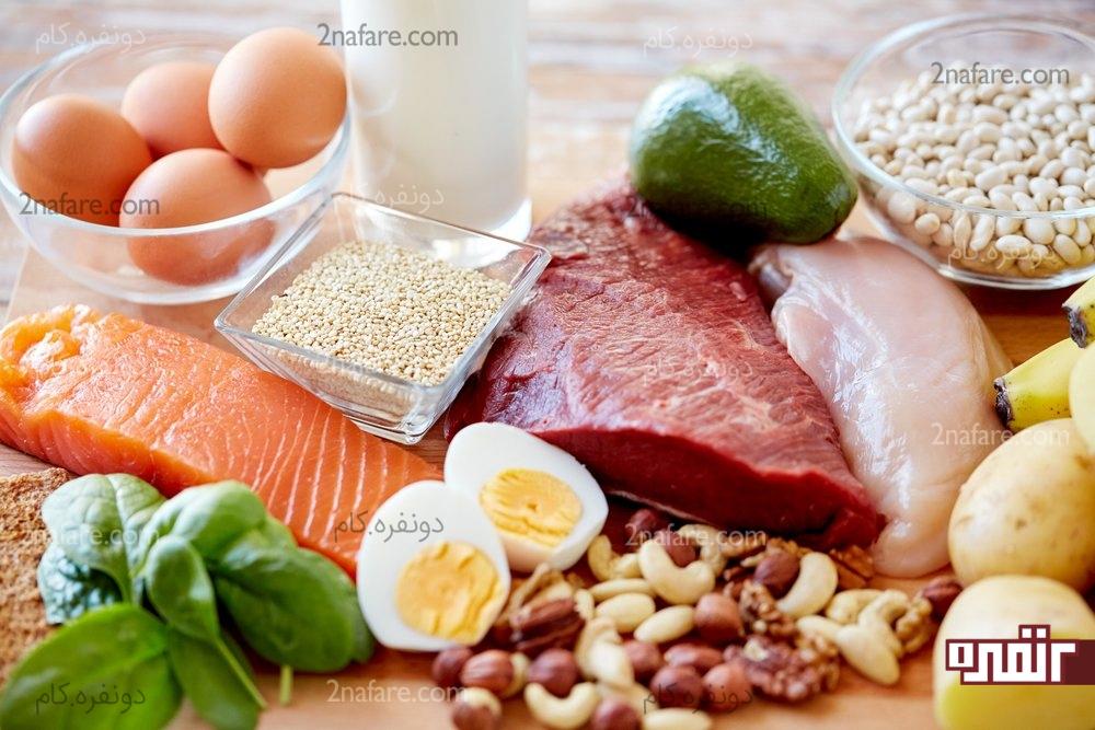 از پروتئین ها در صبحونه استفاده کنین