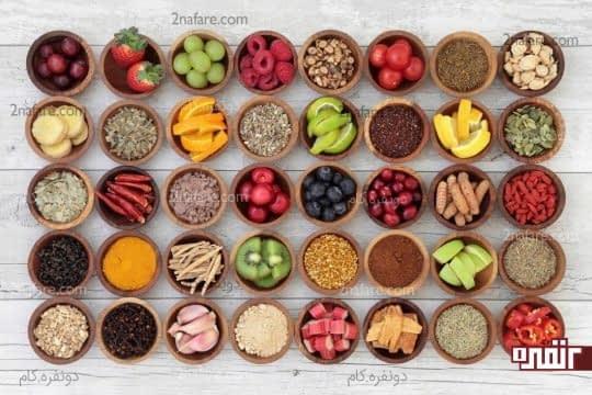 مواد غذایی مقوی و سالم