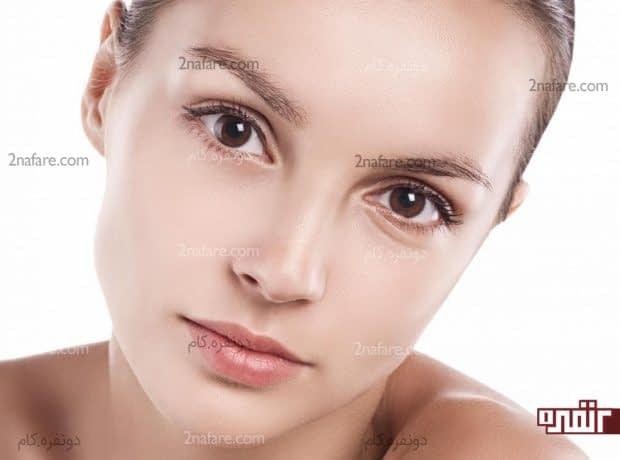 ماسک خانگی برای شفاف سازی پوست صورت