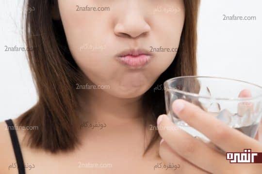 آب نمک برای درمان خانگی خلط سینه