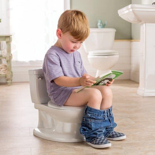 آماده شدن برای آموزش توالت