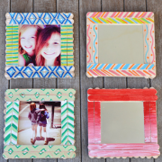 آموزش ساخت قاب عکس و قاب آینه با چوب بستنی