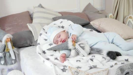 اختصاص فضایی امن و راحت برای خواباندن نوزاد