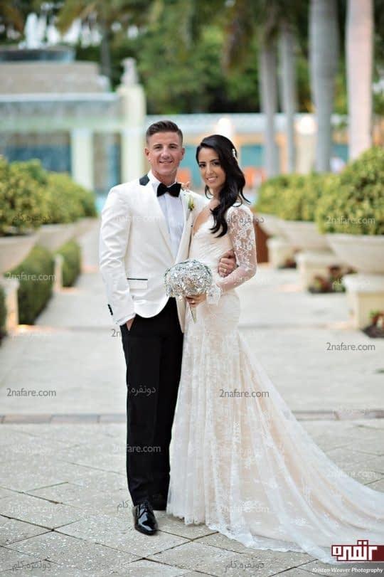 استفاده از تمام نقاط برای عکس عروسی