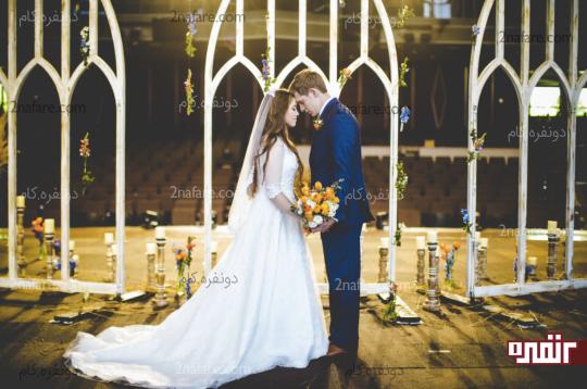 استفاده از دسته گل عروس در عکس4