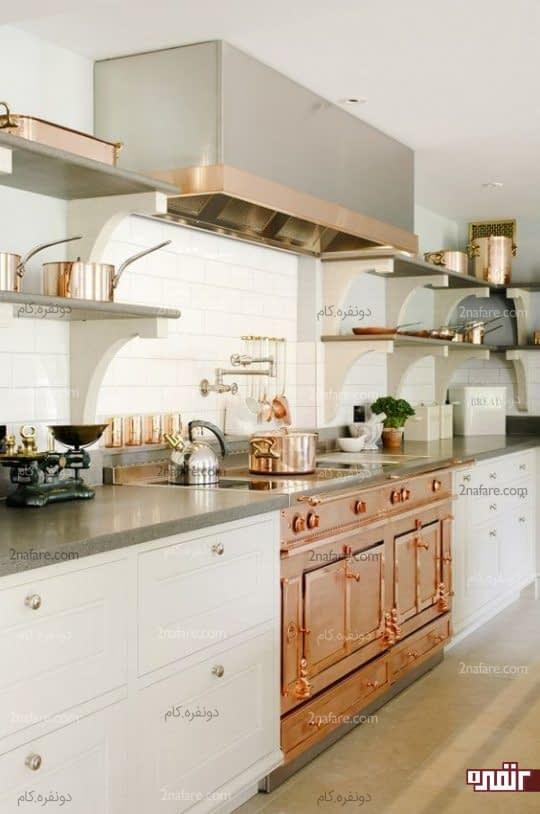 استفاده از لوازم مسی در آشپزخانه