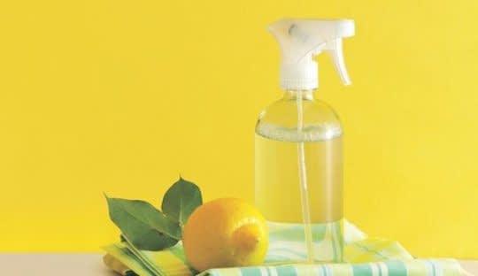 اسپری لیمو برای معطر کردن فضای خانه