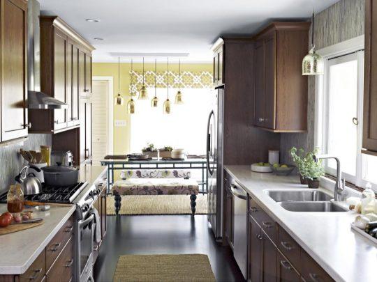 اصول چیدمان آشپزخانه های کوچک
