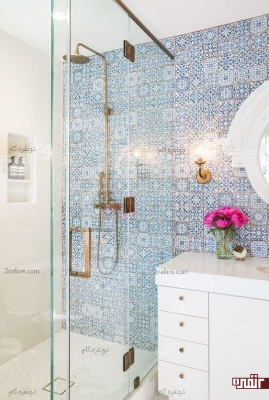 انتخاب کاشی های زیبا و متناسب با فضای حمام