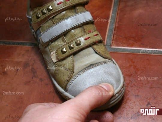 اندازه گیری دقیق کفش