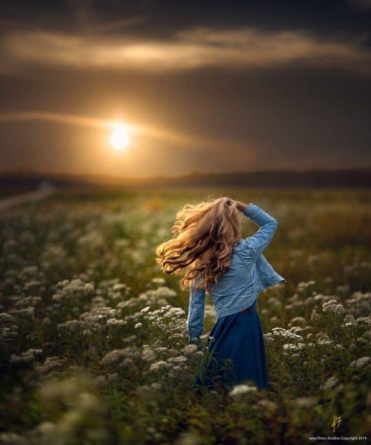 با نور طبیعت ژست بگیرید