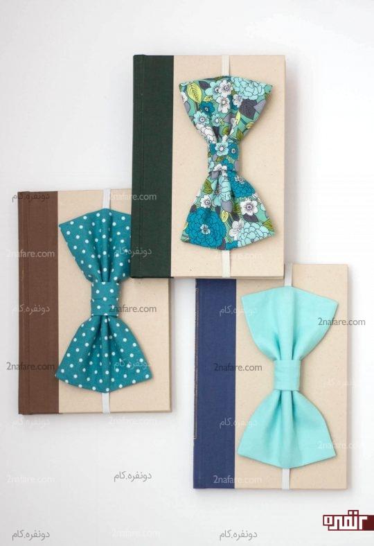 بوکمارک پاپیونی در رنگ های مختلف