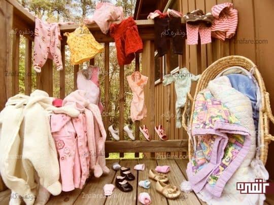 بیش از حد برای نوزاد لباس نخرید