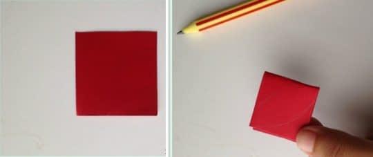 تازدن کاغذ و طراحی برگ