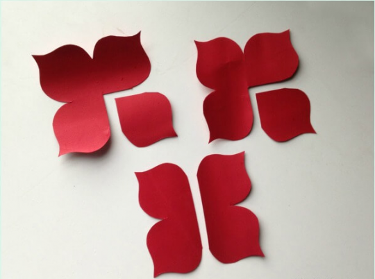 تقسیم بندی و برش گلبرگ ها