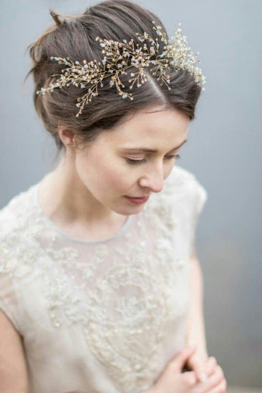 تل عروس شاخه ای طلایی