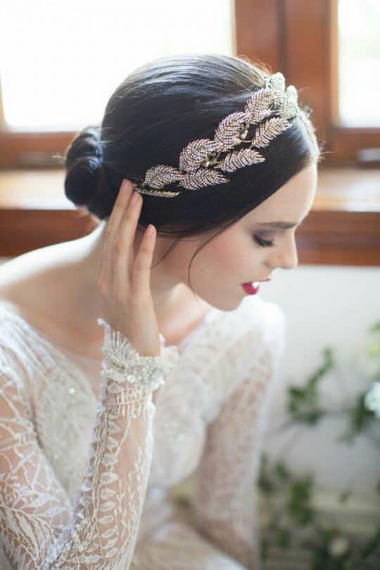 تل عروس مدل برگ