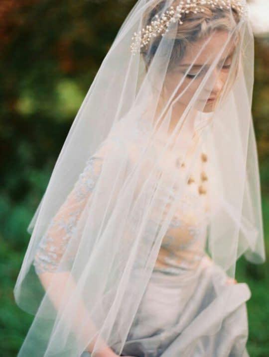 تل و تور سر عروس