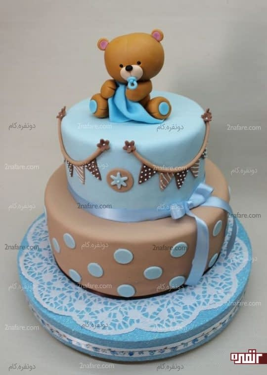 تنوع رنگ و جذابیت کیک تولد پسرونه
