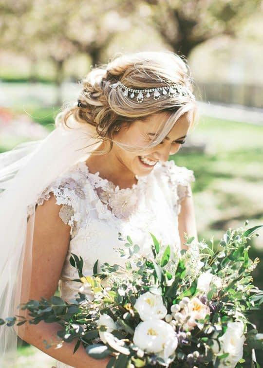تور عروس و تل سر