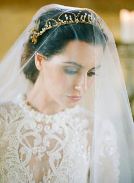تور و تل سر عروس
